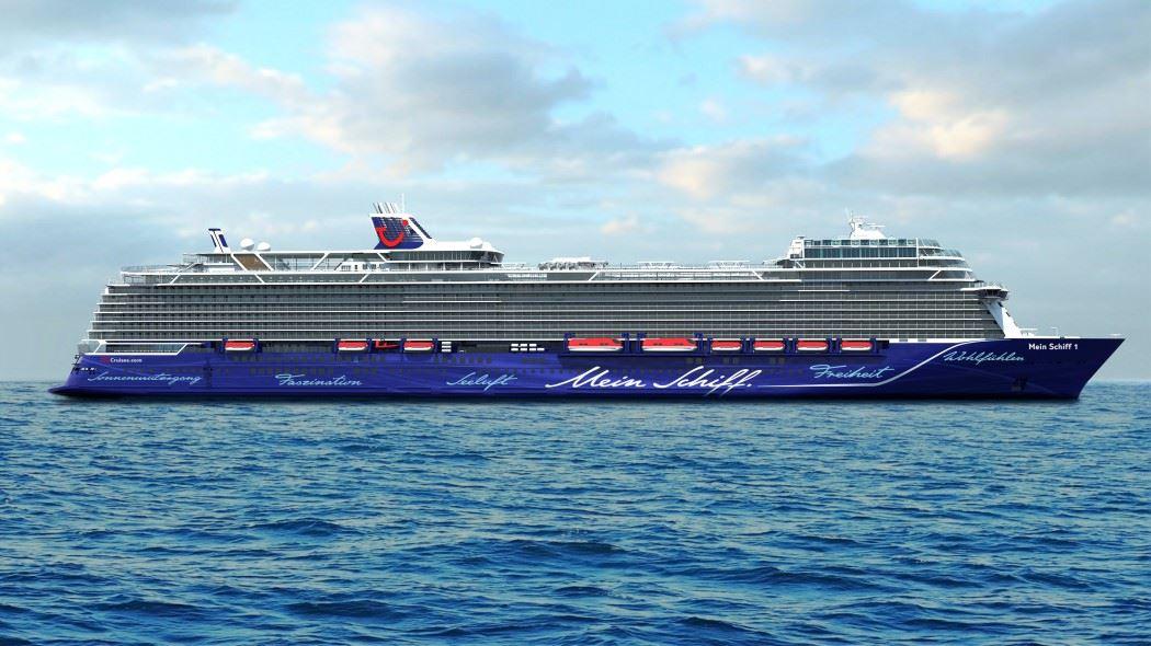 Jungfernfahrt Und Taufreise Der Neuen Mein Schiff 1
