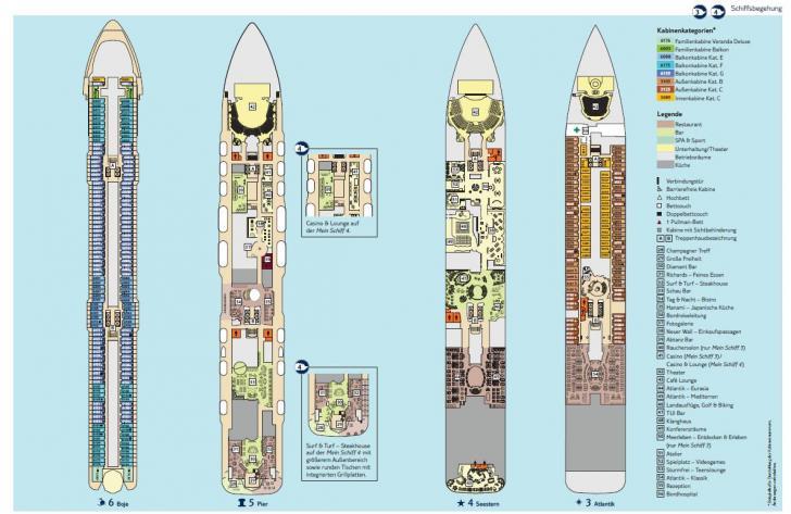 Deckplan mein schiff 3