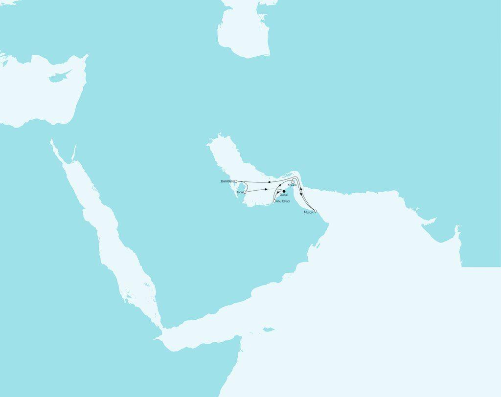 Orient & Dubai Weihnachts- und Silvesterreise mit Mein Schiff